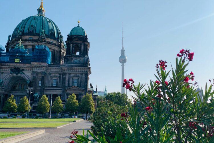 Sommer in Berlin in Ruhe mit viel Insoiration